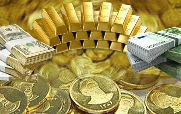سکه گران، طلا ارزان شد