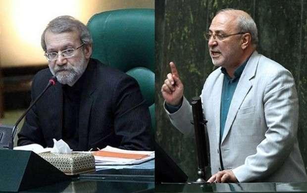 لاریجانی با دولت بده بستان دارد/ صدای ما به جایی نمیرسد