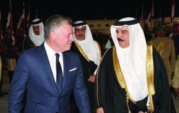دیدار پادشاه بحرین و همتای اردنی اش در منامه