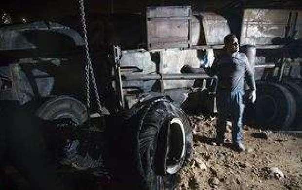 تانکر حمل سوخت حادثه سنندج متعلق به کجا بود؟
