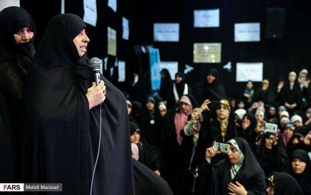 خواهرمسیح علینژاد خطاب به رهبرانقلاب؛شرمنده ایم