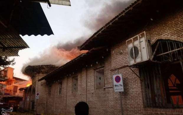 دلیل حریق مسجد ساری مشخص شد