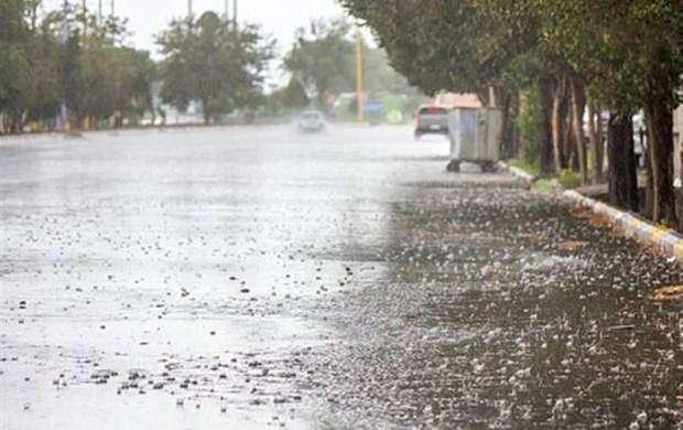 بارش پراکنده باران در شمال و جنوب کشور