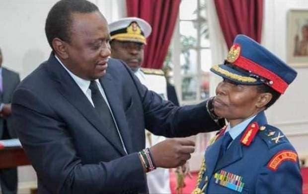 یک زن مسلمان اولین سرلشکر زن ارتش کنیا شد