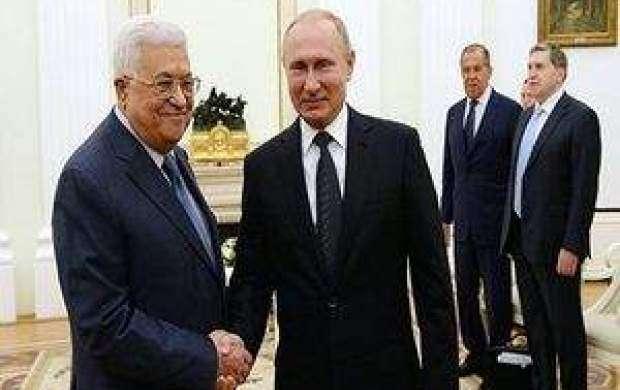 رایزنی پوتین و محمود عباس درباره اوضاع منطقه