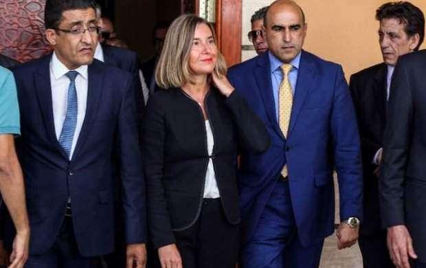 سفر موگرینی به لیبی