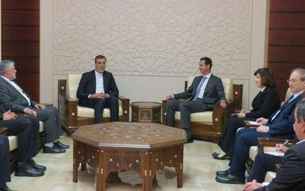 روابط سوریه وایران درعالی ترین سطح ادامه می یابد