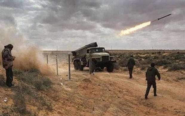 حملات موشکی یمن به مواضع نظامیان سعودی