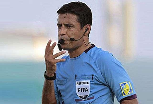 فغانی بهترین داور جام جهانی شد