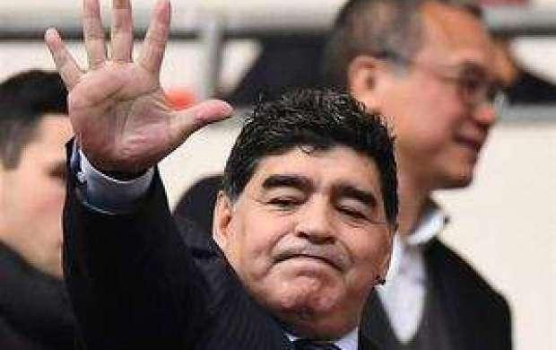 مارادونا: قلب من فلسطینی است