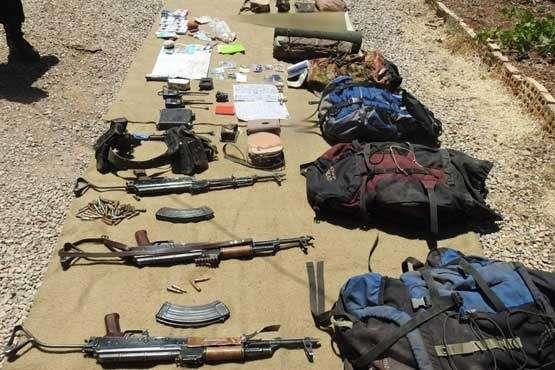 تروریست های به  هلاکت  رسیده توسط سپاه +عکس