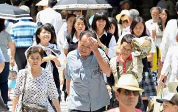 موج گرما در ژاپن ۱۵ قربانی گرفت