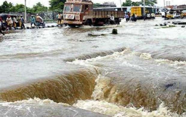 ۱۱ کشته بر اثر بارش باران های موسمی در هند