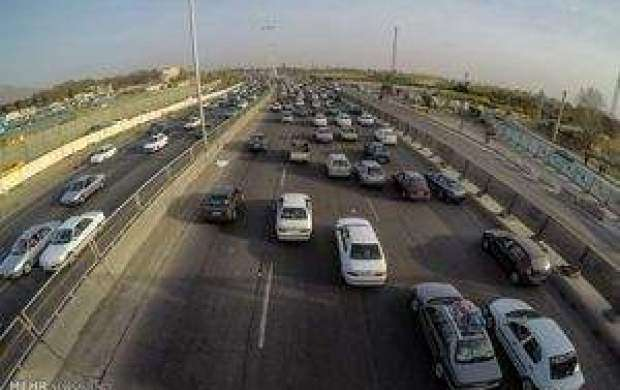 آخرین وضعیت ترافیکی جاده ها