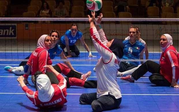 تیم والیبال نشسته بانوان ایران در جهان نهم شد