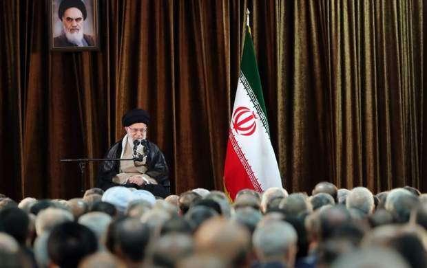 دیدار وزیر و مسئولان وزارت خارجه با رهبر انقلاب