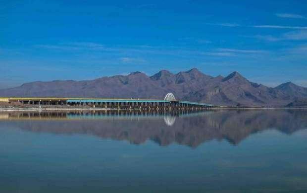 60 درصد دریاچه ارومیه 60 سانتی متر ارتفاع دارد