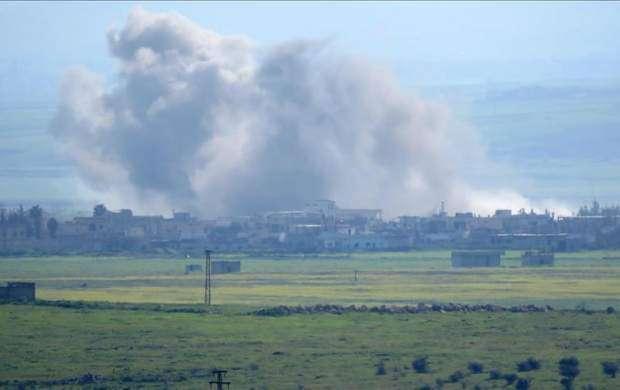 حمله هوایی رژیم صهیونیستی به ریف غربی حماه