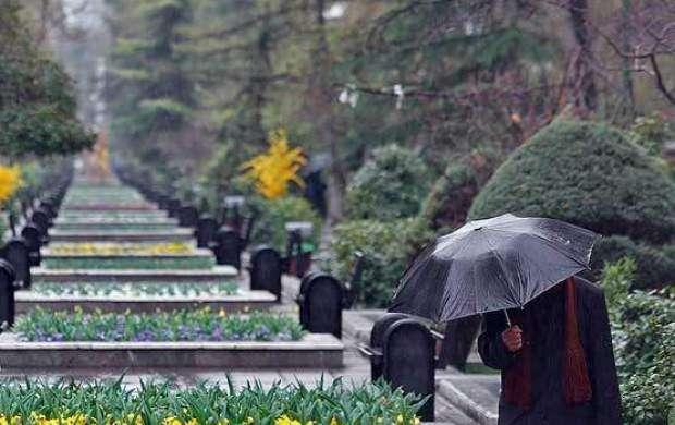 بارش پراکنده باران در راه تهران و ۱۴ استان