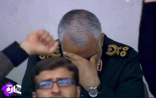کدام جمله امروز رهبرانقلاب، اشک حاج قاسم را درآورد؟