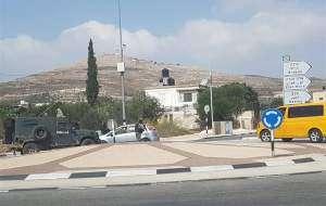 زخمی شدن ۲ صهیونیست در عملیات استشهادی در نابلس