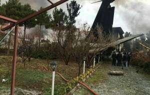 بیانیه ارتش درباره سقوط هواپیمای ۷۰۷