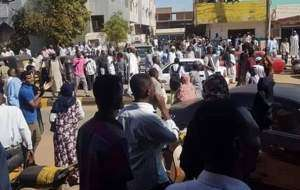 جنگي،تظاهرات،گلوله،زخمي،نفر،اعتراضات،سودان