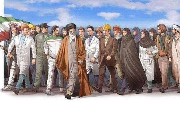 واکنش جوانان به فرمان گام دوم رهبرانقلاب +عکس