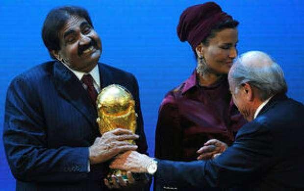رشوه نجومی قطریها به فیفا برای گرفتن میزبانی