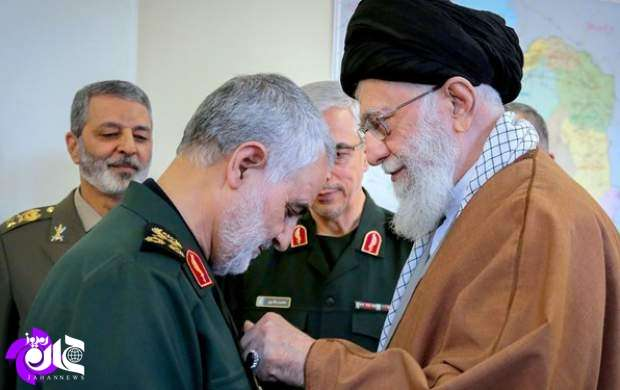 آروزی شهادت رهبری برای سردار سلیمانی/ جمهوری اسلامی سالهای سال با ایشان کار دارد +تصاویر