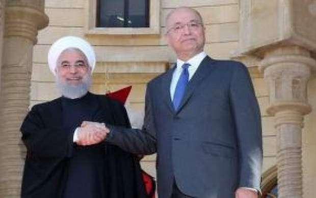 ادعای عجیب آمریکا در مورد سفر روحانی به عراق