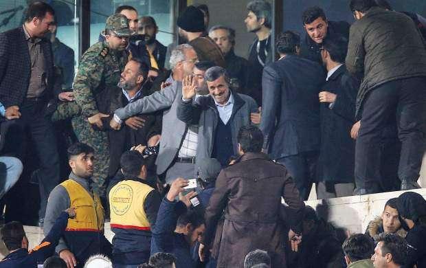 به خاطر احمدینژاد بازی مساوی شد!
