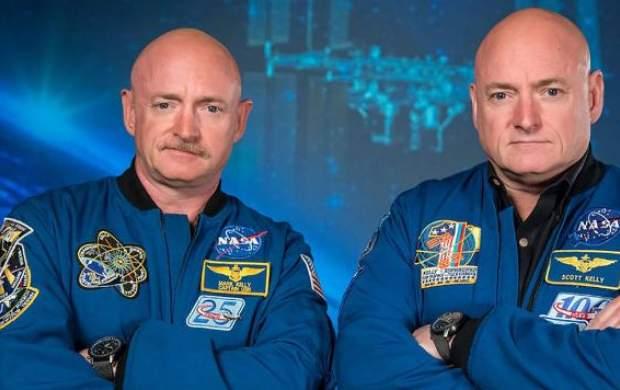 تغییر جالب و باورنکردنی یکی از فضانوردان دوقلو