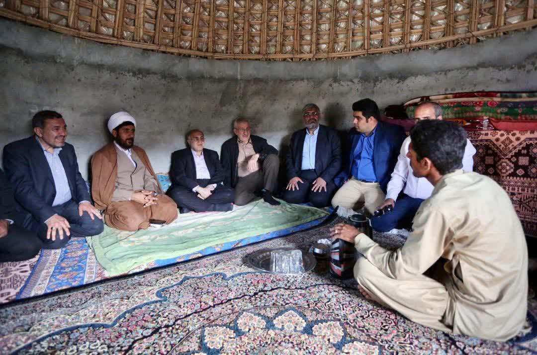 افتتاح چند طرح عمرانی و تولیدی در قلعه گنج - 1
