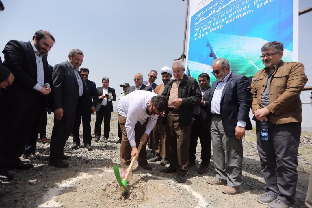 افتتاح چند طرح عمرانی و تولیدی در قلعه گنج - 5