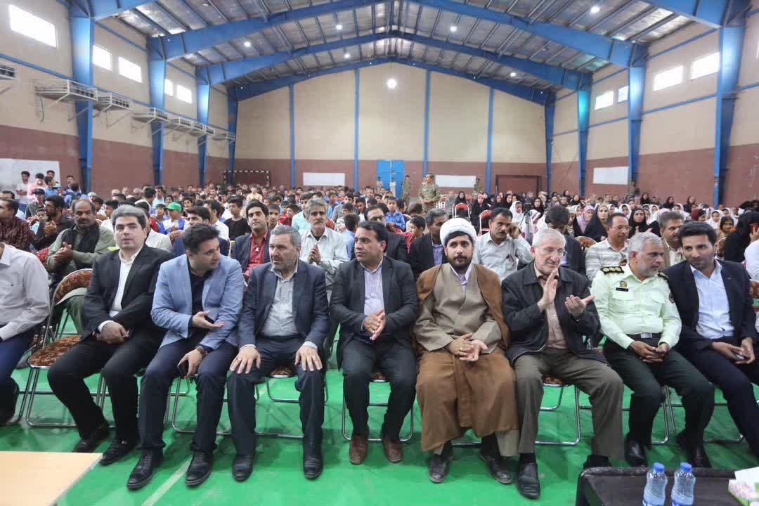 افتتاح چند طرح عمرانی و تولیدی در قلعه گنج - 18