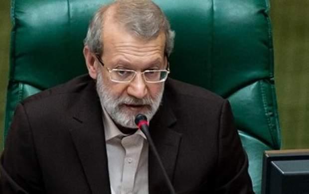 توضیحات لاریجانی درباره جلسه با فرمانده سپاه