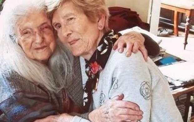 دیدار مادر و دختری بعد از ۸۰ سال!+ عکس