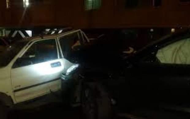 ماجرای تصادف پورشه این بار در مازندران