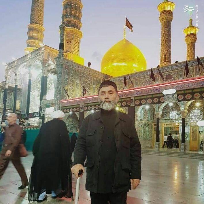 بریدن سر آیت الله غازی در زندان به وسیله داعش +عکس