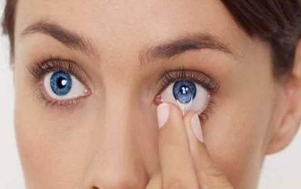 استفاده از لنزهای رنگی و دائم ممنوع!