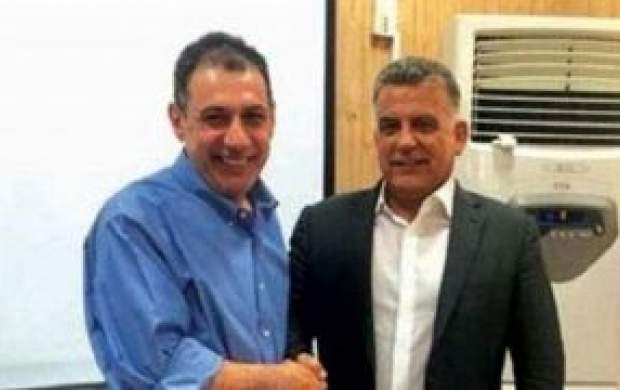 نزار زکا ایران را ترک کرد