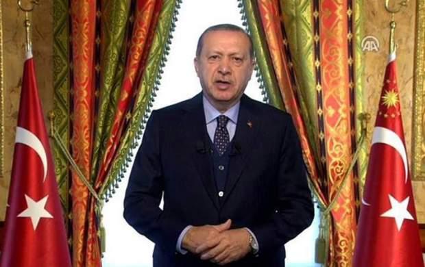 اردوغان: رحمت خداوند بر «شهید مرسی» باد!