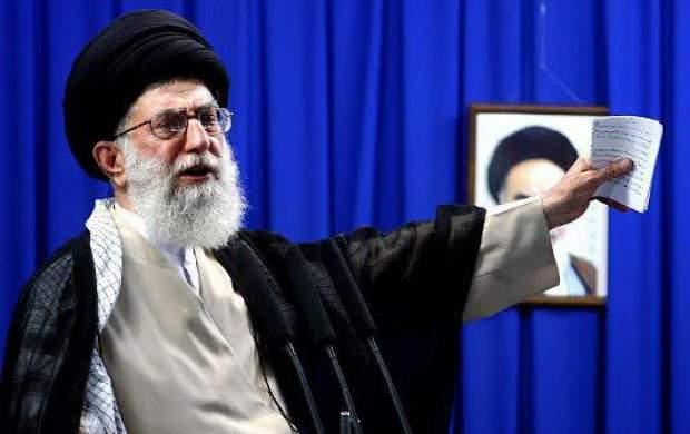 Risultati immagini per آقای خامنهای در خطبه نماز جمعه ۲۹ خرداد 88