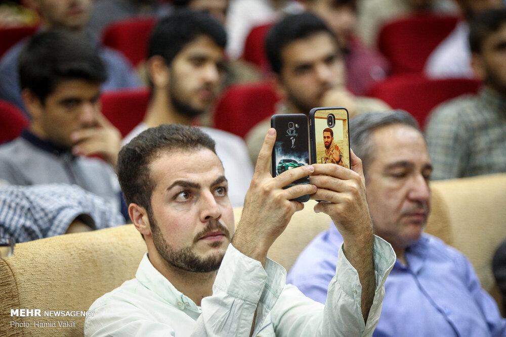 قاب موبایل با طرح شهید مدافع حرم