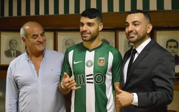 مهاجم تیمملی به لیگ پرتغال پیوست