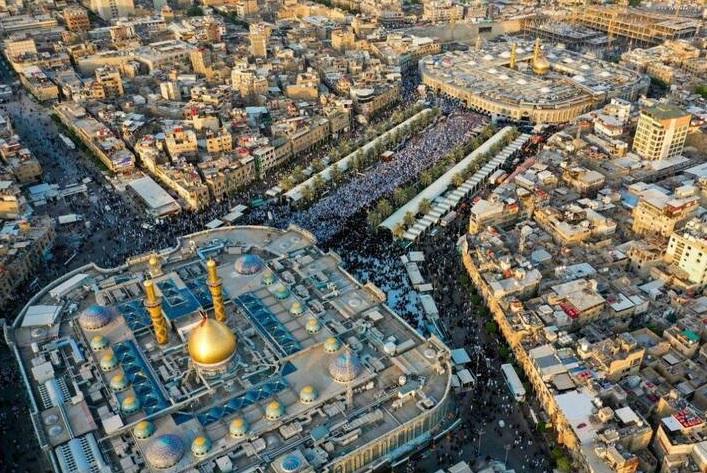 نماز عید قربان در بین الحرمین