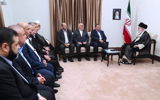 جزئیات جدید از دیدار هیأت حماس با رهبرانقلاب/ ماجرای پیام سعودیها به حماس چه بود؟