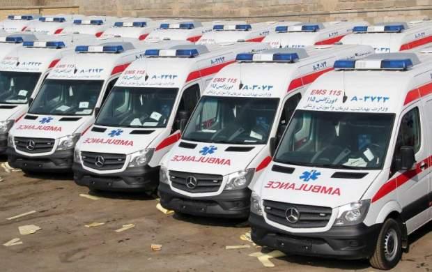 خودروی جدید سلبریتیها آمبولانس است!