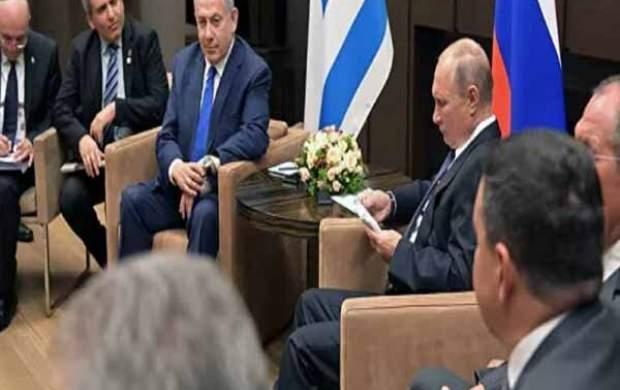 بازداشت ۳ ساعته نتانیاهو در روسیه